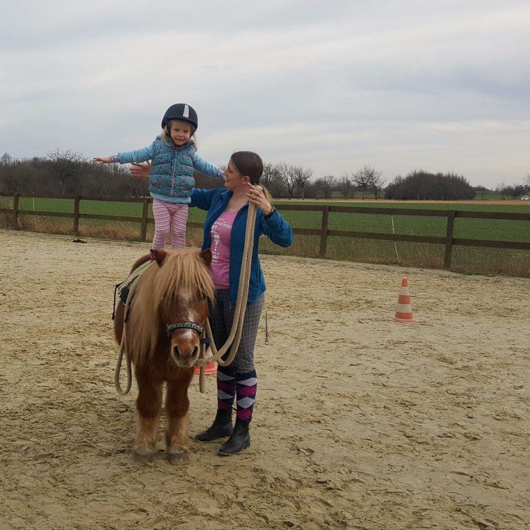 Reittherapie Kind